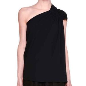 Elegant Stella McCartney Black One Shoulder Top 40